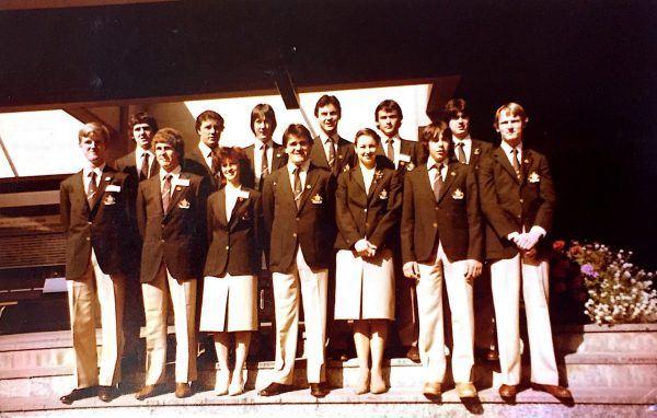 First Australian Team